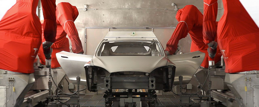 Tesla PPG Refinish