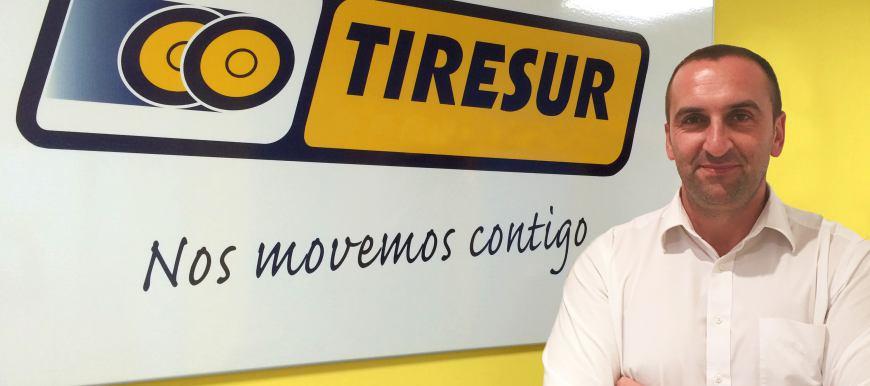 Vitor Magano novo Sales Manager da Tiresur
