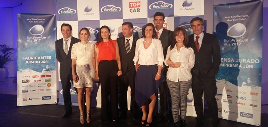 Oficinas TopCar premiadas na gala EuroPremium 2017