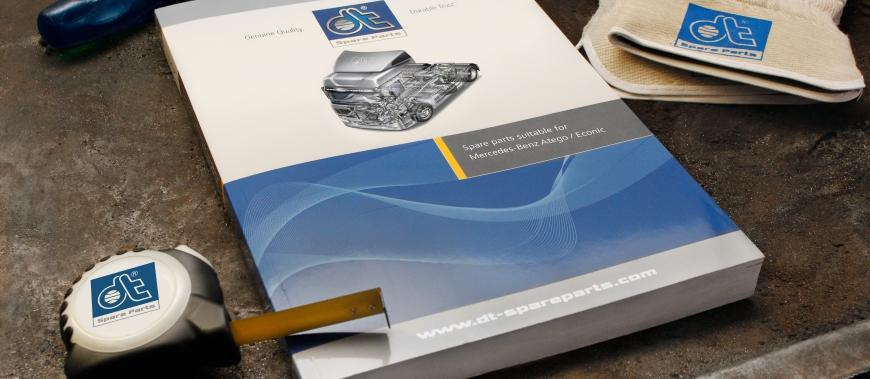 Nova expansão da gama de produtos Mercedes Atego / Econic na DT Spare Parts