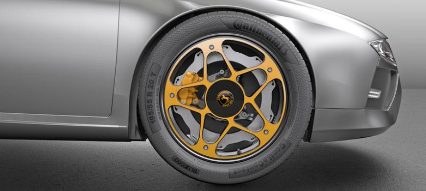 Continental desenvolve sistema de travagem com New Wheel Concept