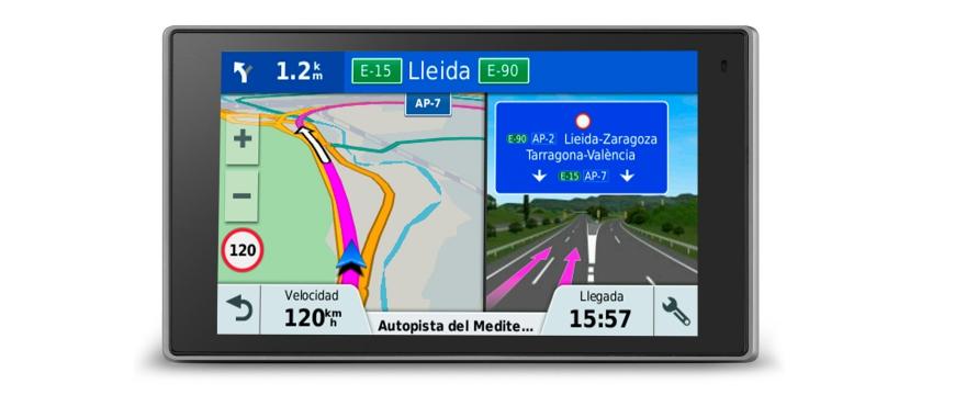 Garmin Drive com informações de trânsito e radares em tempo real