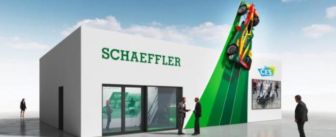 Schaeffler no IAA 2017: do eixo elétrico ao módulo de gestão térmica