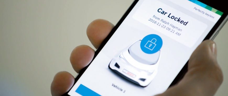 Perfectly Keyless a app da Bosch que substitui a chave do automóvel (com video)