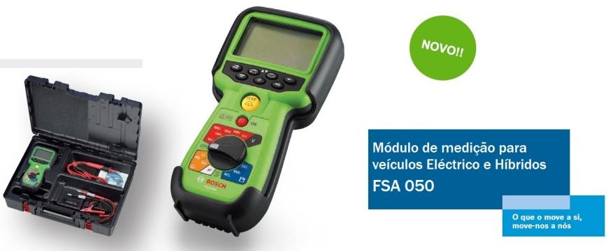 Novo módulo de medição para elétricos e híbridos da Bosch