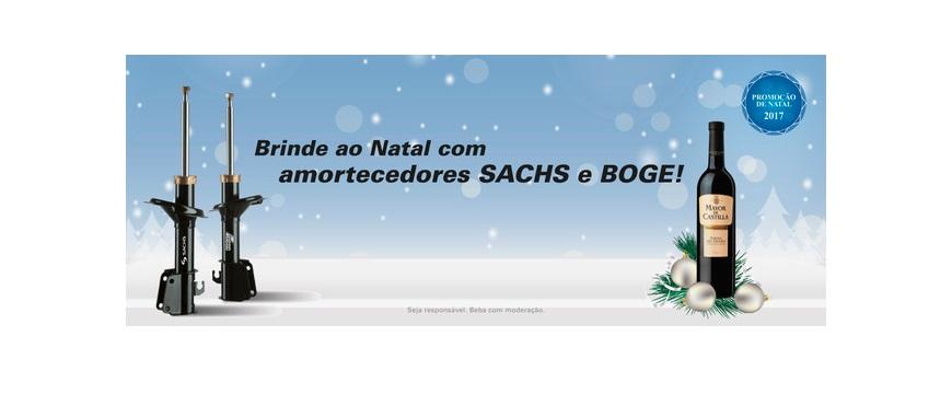 ZF Aftermarket promove campanha de Natal para amortecedores Sachs e Boge