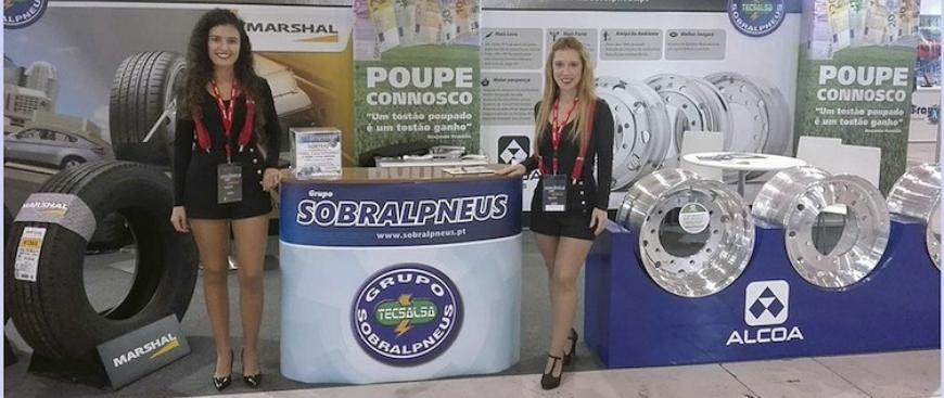 Grupo Sobralpneus distribuiu prémios na Expotransporte