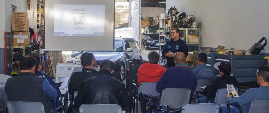 Technopompe realiza formação Autel