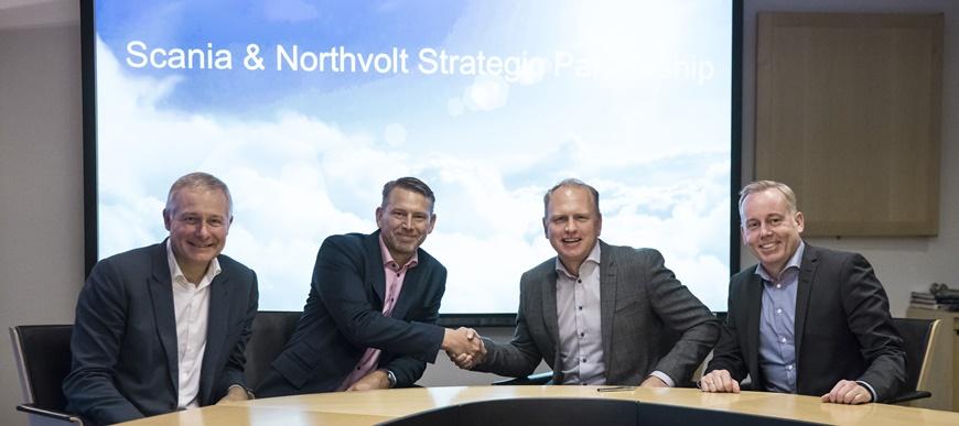 Scania e Northvolt em parceria para a eletrificação de veículos pesados