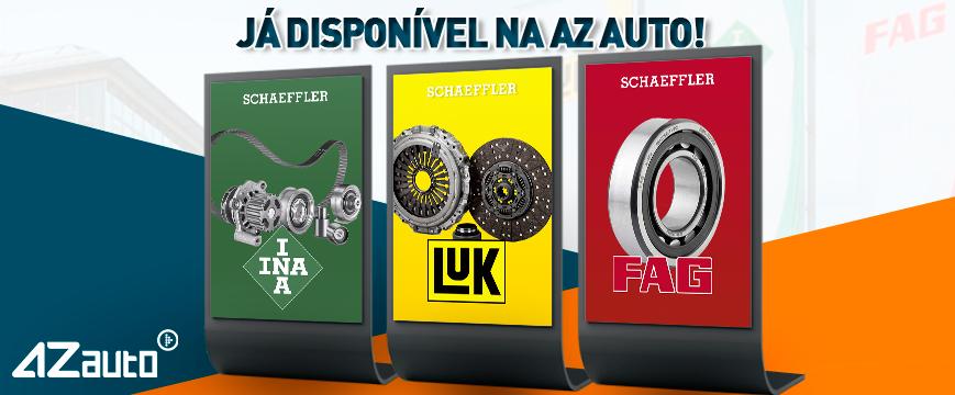 INA, LUK e FAG já disponíveis na AZ Auto