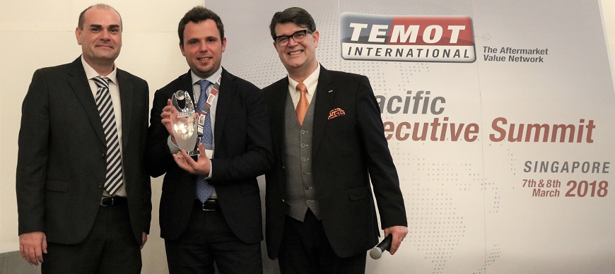 """Nissens Automotive recebe prémio """"Appreciate Supplier"""""""