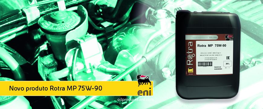 Novo Eni Rotra MP 75W-90 para transmissões manuais