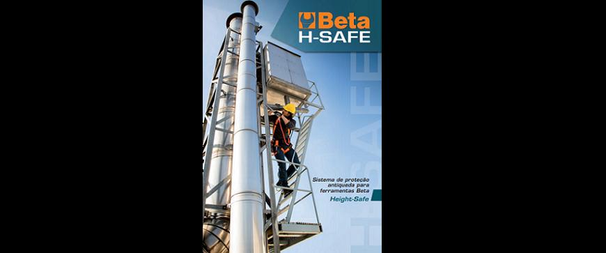 Nova linha de ferramentas Beta com sistema de segurança anti-queda
