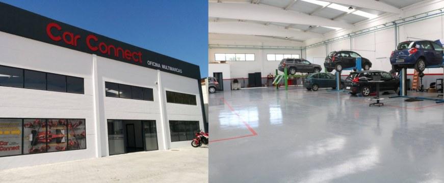 Nova oficina Car Connect em Torres Vedras
