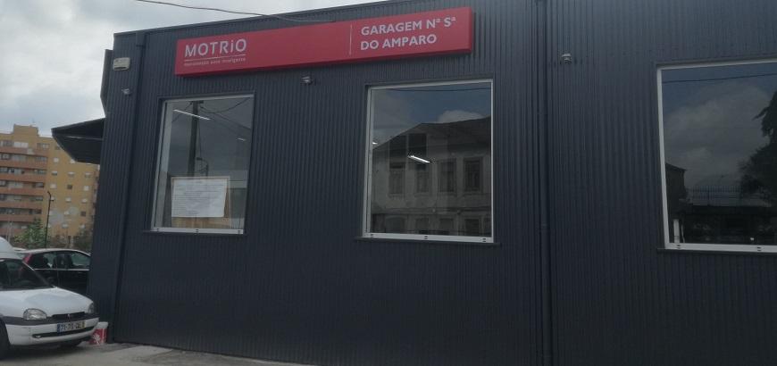 Garagem Nossa Sra. Do Amparo já pertence à rede Motrio
