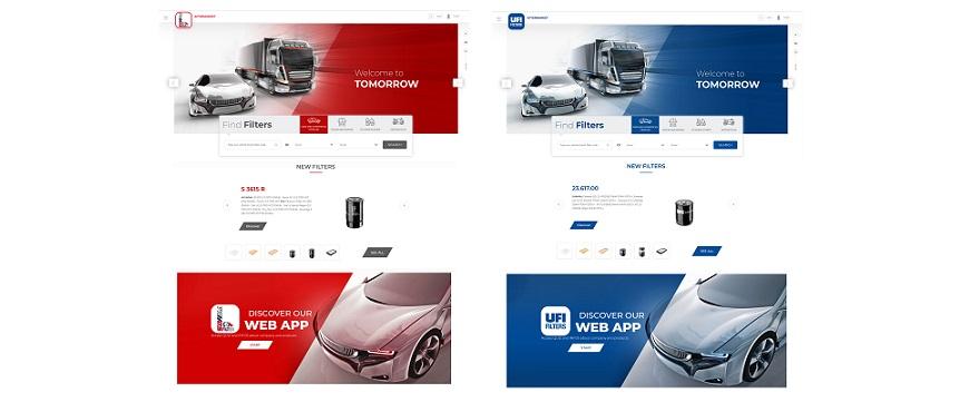 UFI Filters lança novos portais web