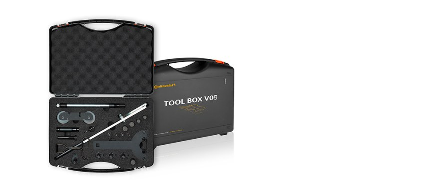 TOOL BOX V05 da Contitech disponível para motores Volkswagen