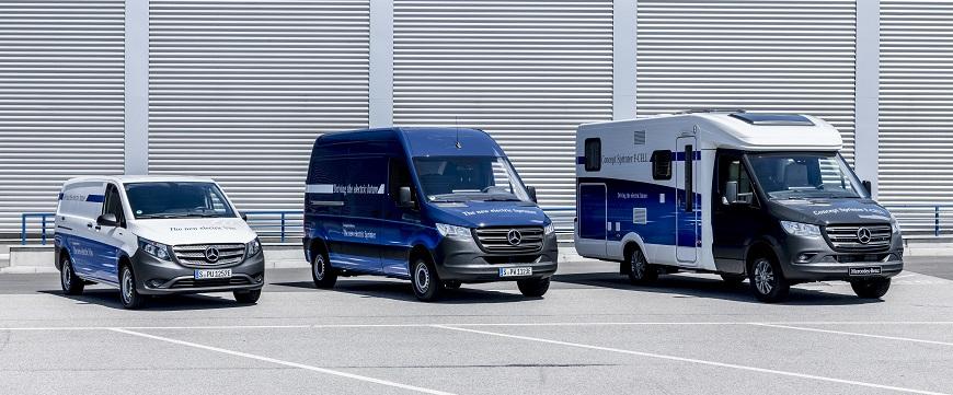 Novo eVito elétrico a bateria da Mercedes-Benz Vans