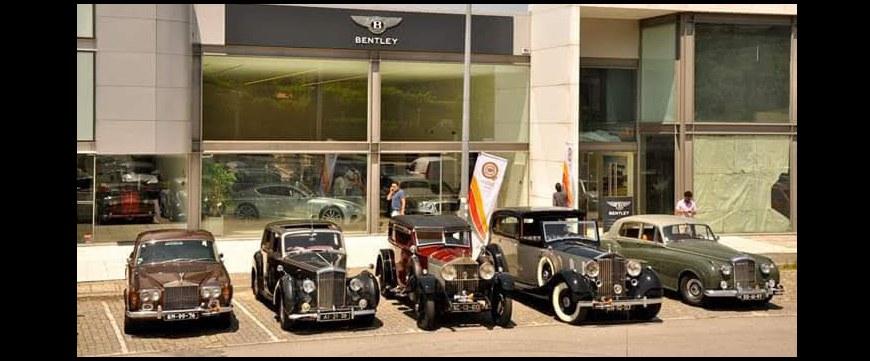SPANJAARD e KROON OIL na inauguração da primeira oficina Bentley para clássicos