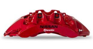 Brembo introduz nova cor nas pinças de travão do NISSAN GT-R50