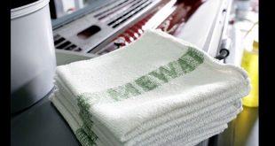 Sistema de panos de limpeza reutilizáveis MEWA