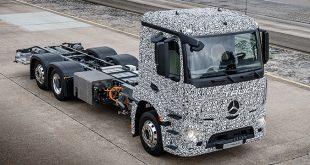 eTruck: o primeiro camião de entregas 100% elétrico da Mercedes