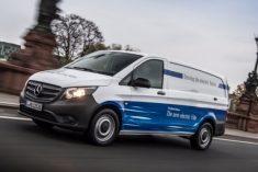 eVito da Mercedes-BenzVans chega a Portugal em 2019