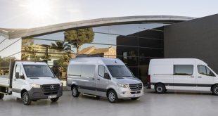 Mercedes-Benz apresenta 3ª geração do Sprinter