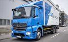 Mercedes-Benz eActros em testes de utilização diária