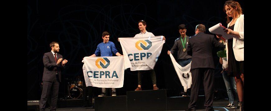 CEPRA é Campeão Nacional de Mecatrónica Automóvel