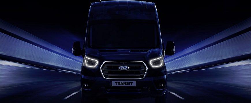 Ford desvenda nova geração Transit no Salão de Hannover