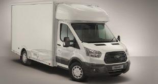 Ford lança versão chassis cabina da nova Transit