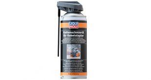 Liqui Moly desenvolve lubrificante para correntes de empilhadores