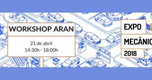 ARAN realiza Workshop de carácter formativo no Expomecânica