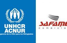Safame Comercial colabora com ONG ACNUR
