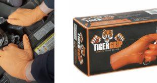 Adilub com novas luvas de nitrilo Tigergrip