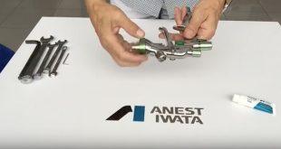 Como montar e fazer manutenção à pistola Anest Iwata Supernova WS/LS 400 (com vídeo)