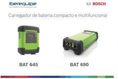 Iberequipe lança 2 novos modelos de Carregadores de Baterias Bosch