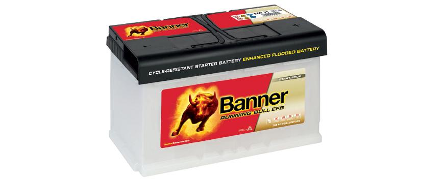 Banner leva novidades de baterias à Automechanika