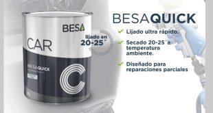 BESA apresenta novo aparelho para lixagem BESA-QUICK