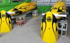 Acabamento da Cromax decora trenós nos Jogos Olímpicos de Inverno
