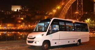 CAETANO iTrabus S33 transporta engenheiros europeus em Lisboa