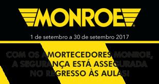 Campanha exclusiva RedeInnov para amortecedores Monroe