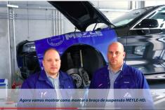 Meyle mostra como montar um braço de suspensão no BMW [vídeo]