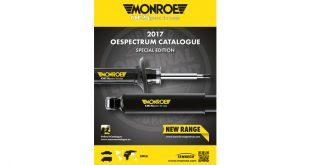 Monroe divulga catálogo de amortecedores OESpectrum