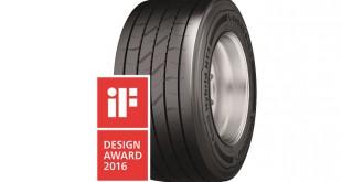 Continental Conti Hybrid HT3 vence prémio de design