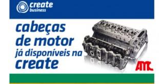 CREATE disponibiliza cabeças de motor AMC