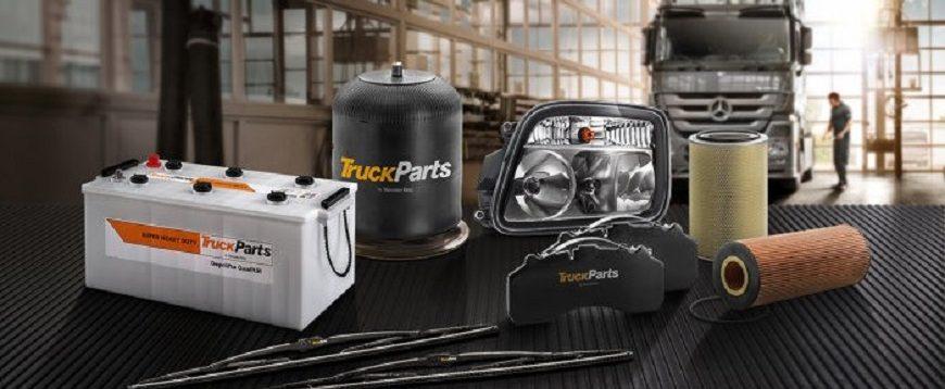 Expansão do serviço e gama de peças TruckParts da Mercedes-Benz