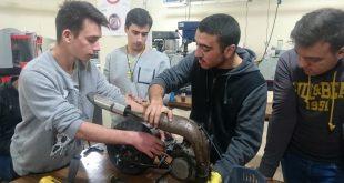 INETE inicia novos projetos com os alunos do curso de Mecatrónica Automóvel