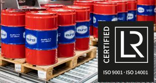 Eurol obtém certificado de gestão ambiental ISO 14001